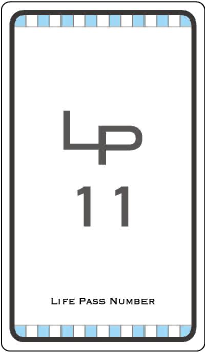 ライフパスナンバー11