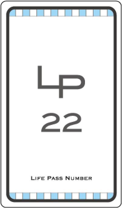 ライフパスナンバー22