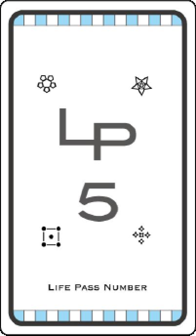 ライフパスナンバー5
