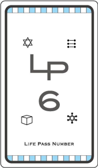 ライフパスナンバー6