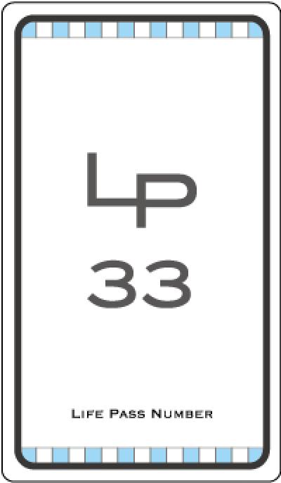ライフパスナンバー33