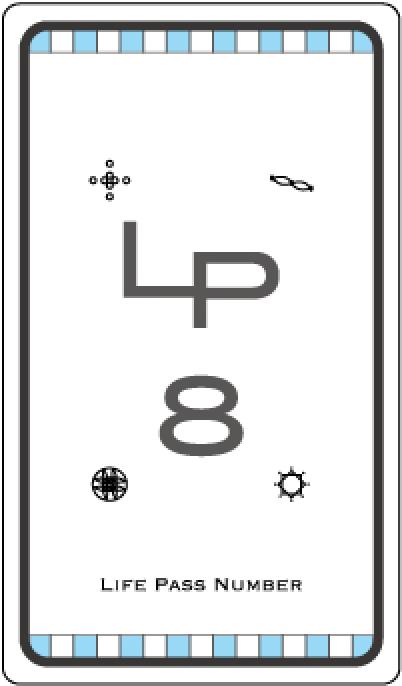 ライフパスナンバー8